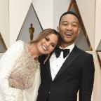 Andover Advertiser: John Legend and Chrissy Teigen were 'couple goals' on the Oscars red carpet