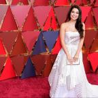 Andover Advertiser: Auli'i Cravalho battles through Oscars performance despite being hit by flag