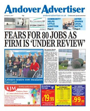 Andover Advertiser: Here's what's in your Advertiser this week - out now and still only 75p