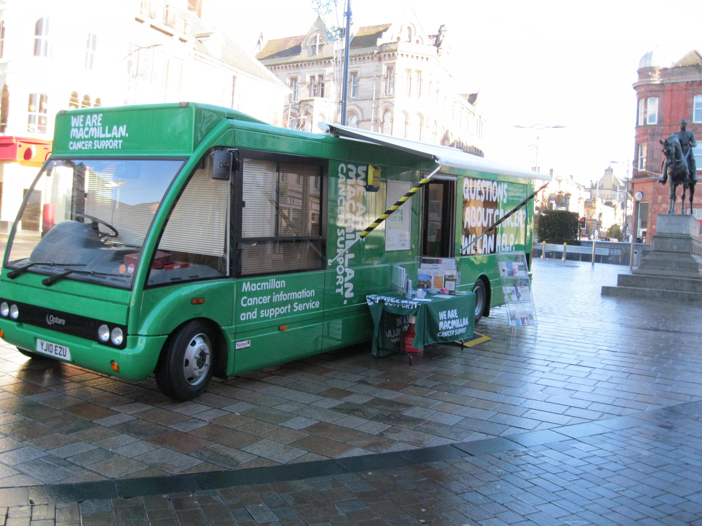 Macmillan Cancer Support Information Service in Aldershot