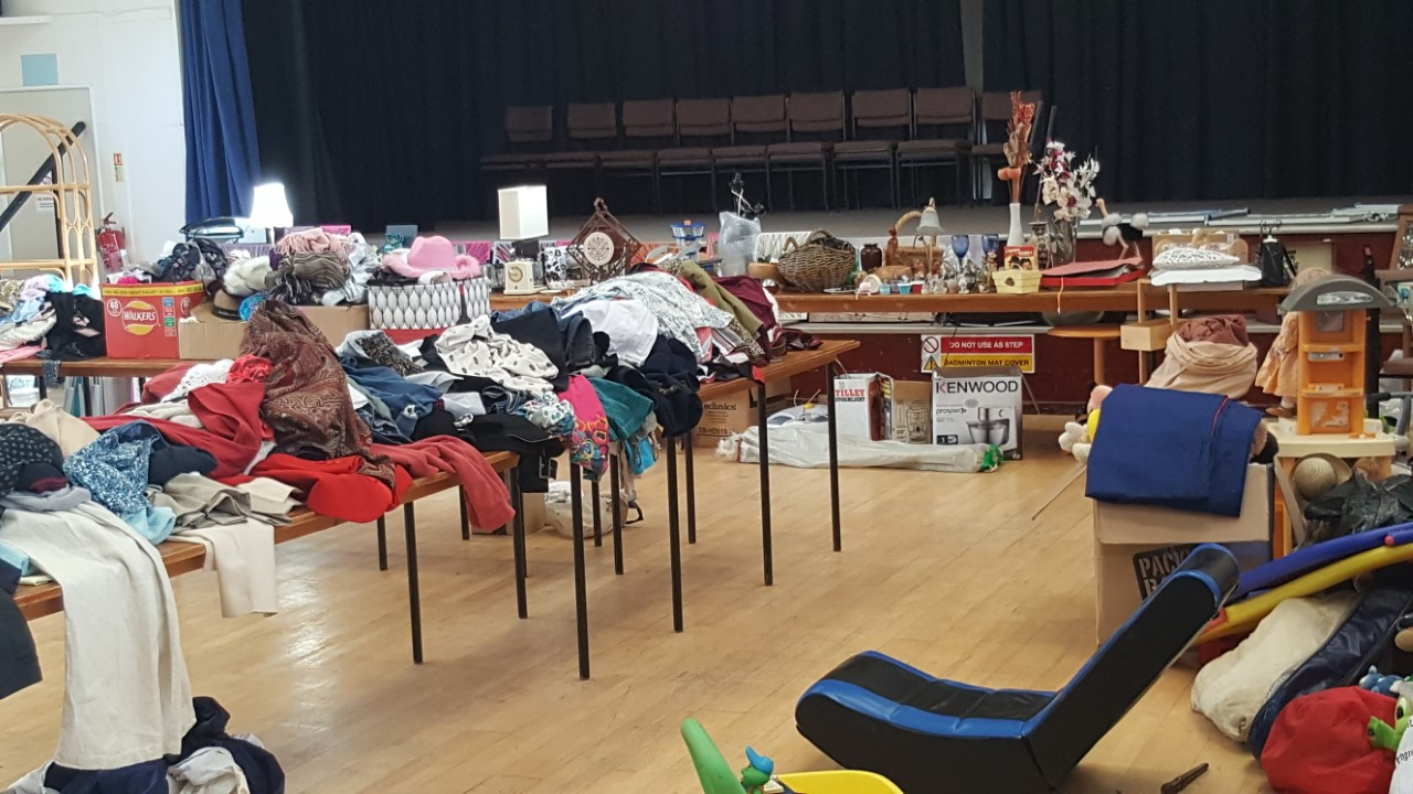 Warsash Sea Scouts Grand Jumble Sale