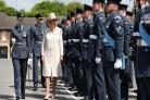RAF graduates wished 'best of British luck' by Duchess of Cornwall