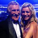 Andover Advertiser: Tess Daly and Sir Bruce (Ian West/PA)