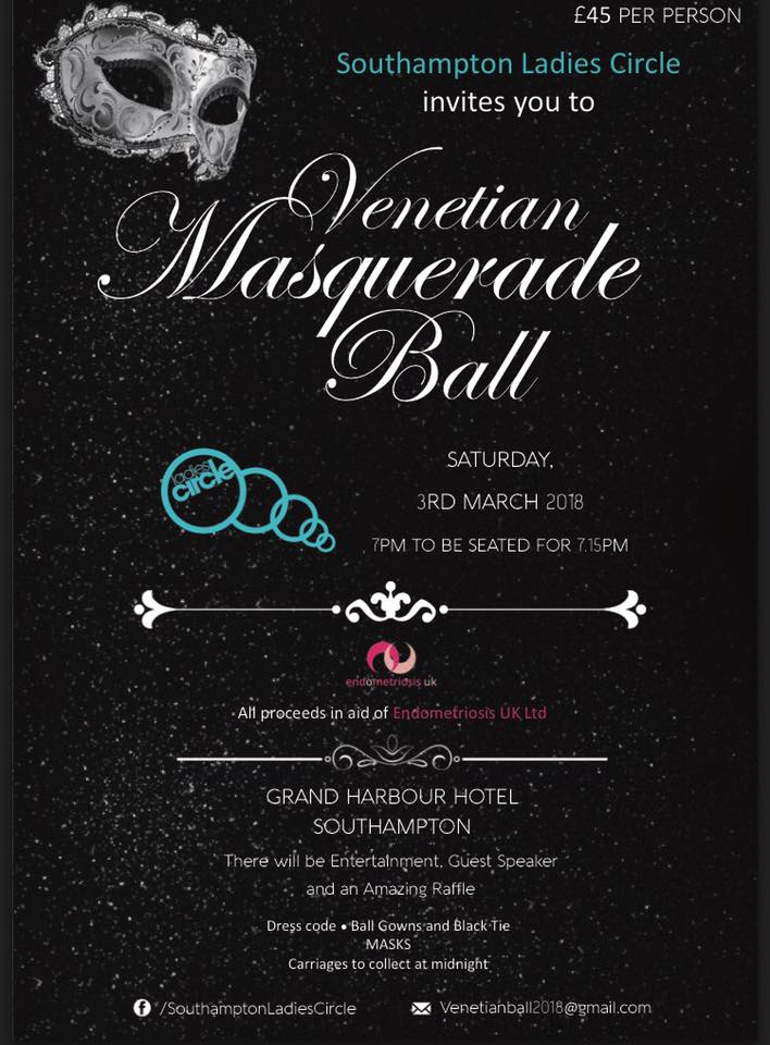 Southampton Ladies Circle's Venetian Masquerade Ball