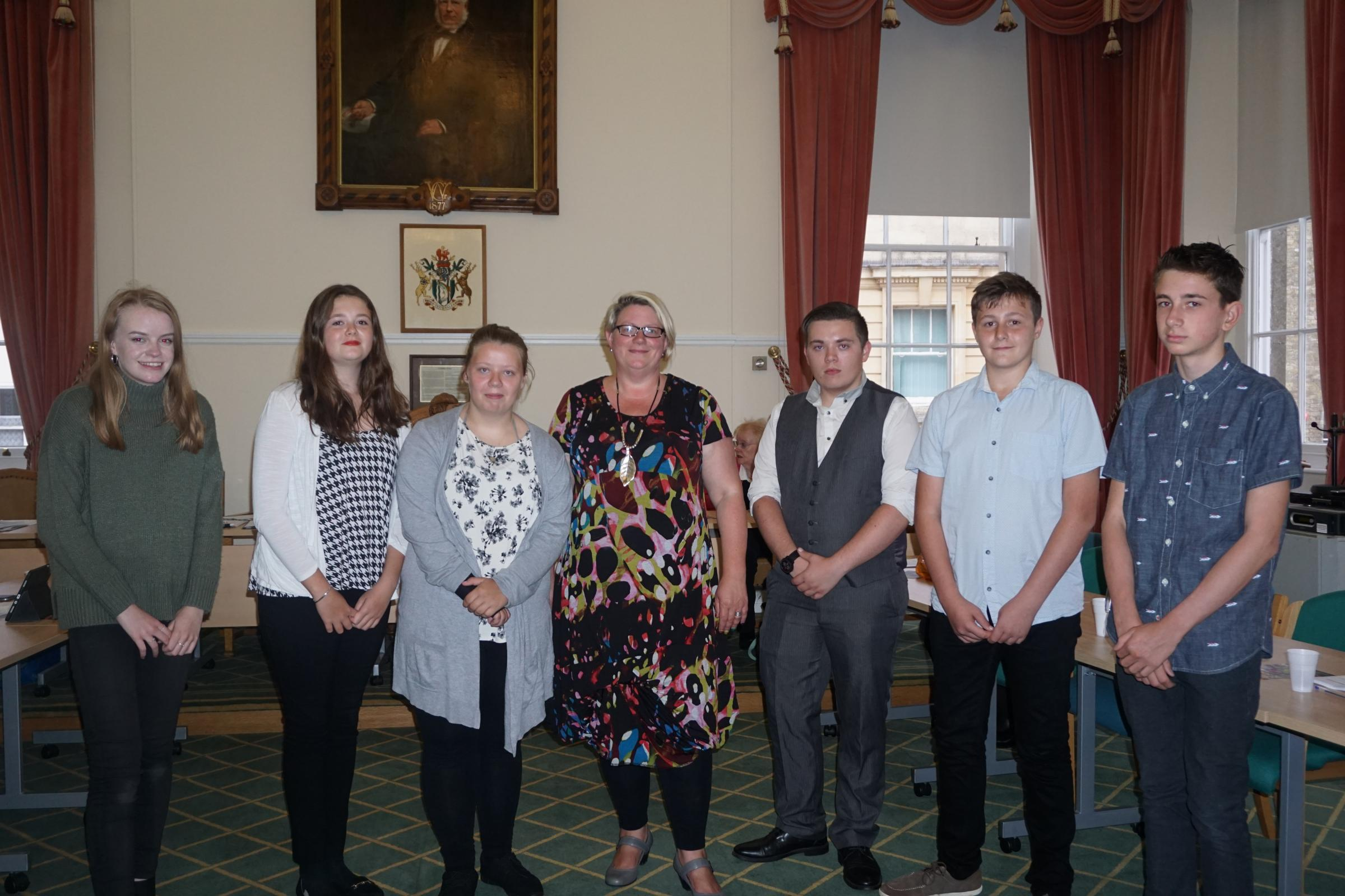 More youth councillors sworn in