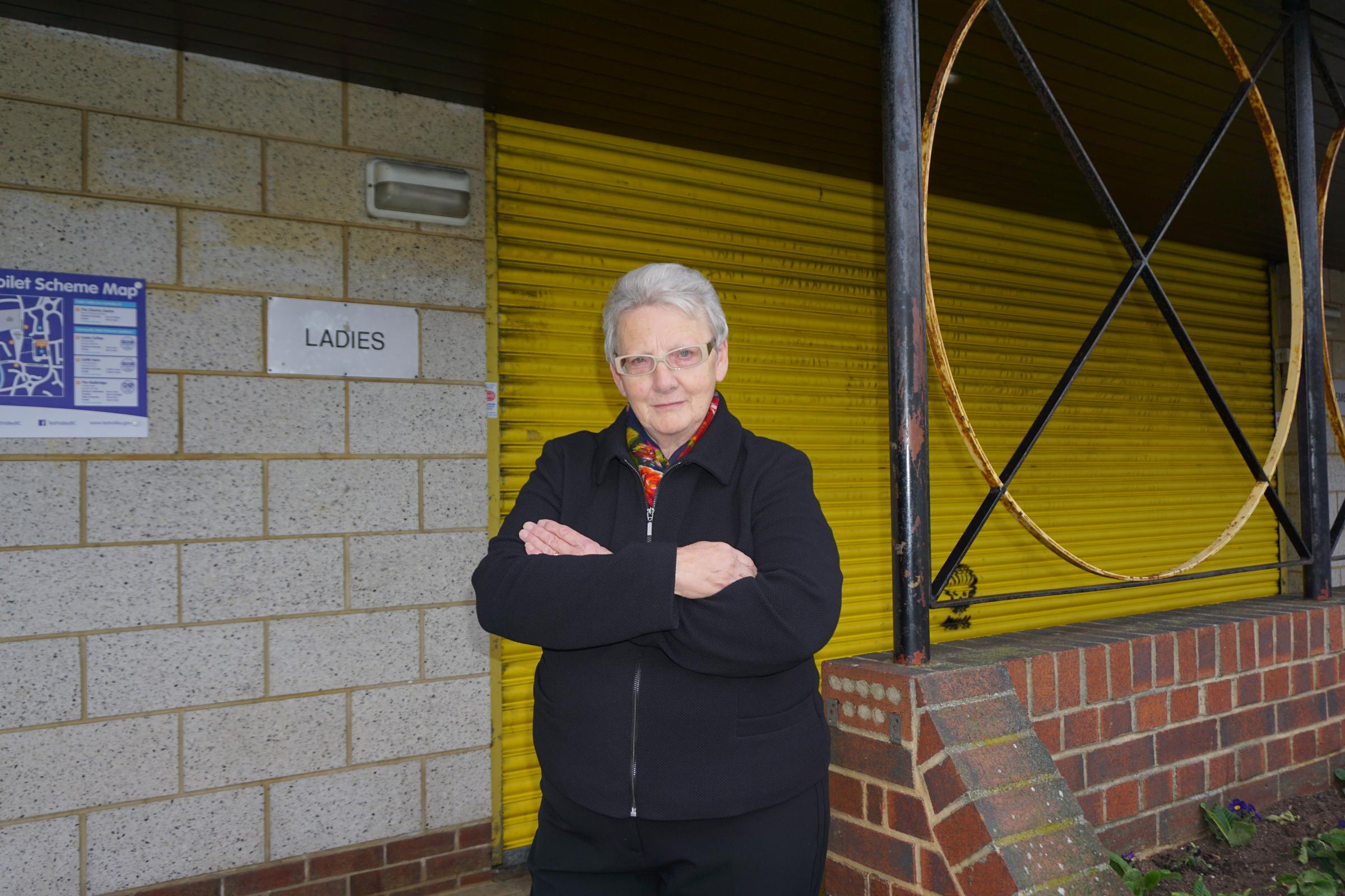 Councillor Iris Andersen will be voting against the demolition of the George Yard toilets