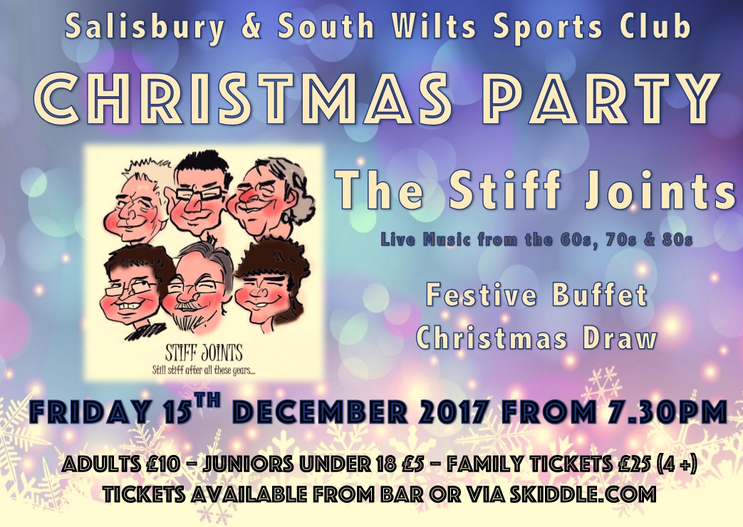 Christmas Party with The Stiff Joints.