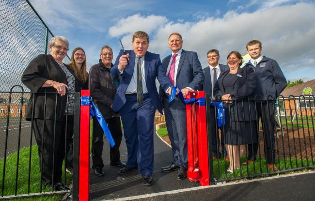 The facilities officially opened by Kit Malthouse MP and DWH Southern MD, Paul Crispin. Image: Mikey Sewell