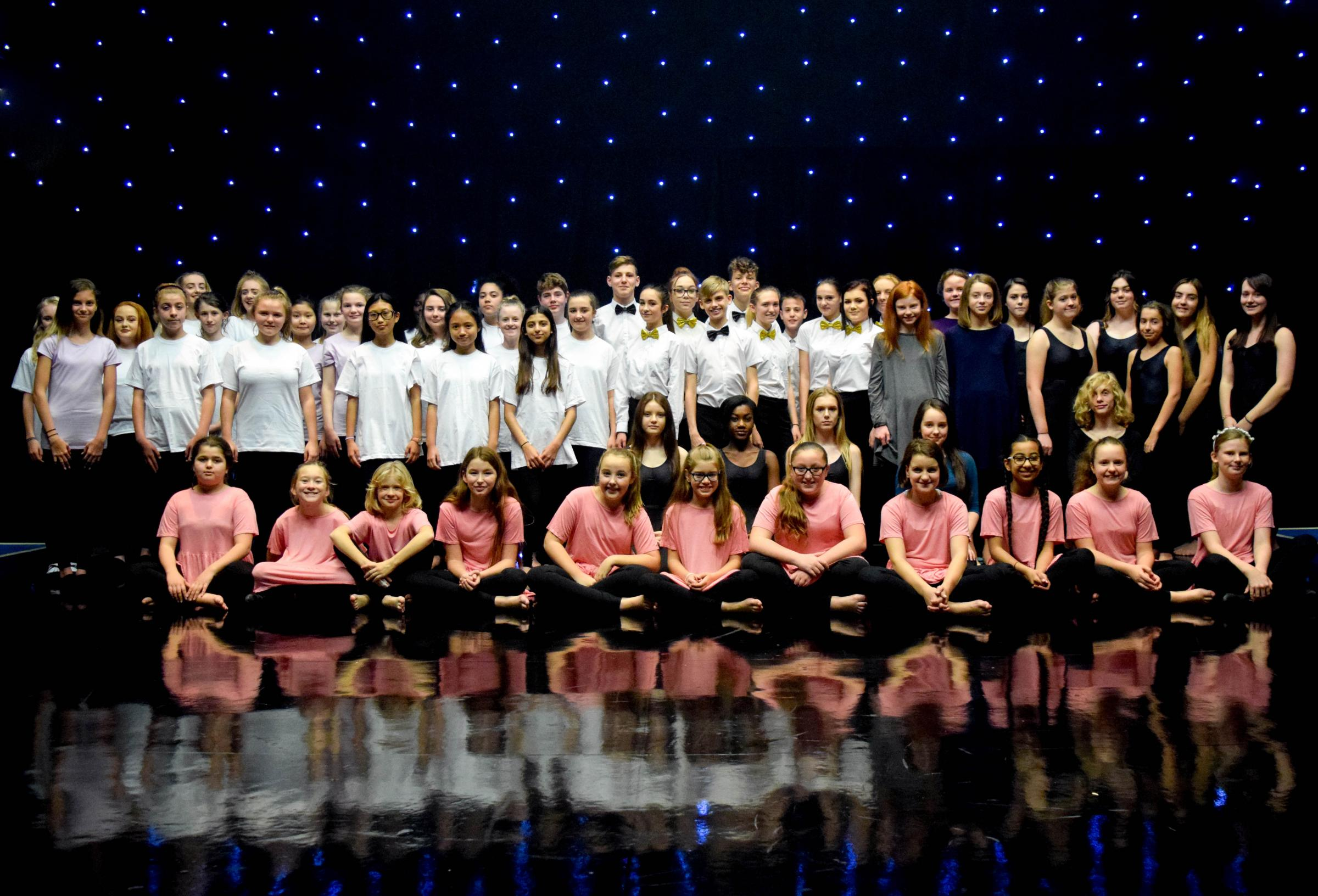 More than 70 pupils took part in Winton Academy's largest dance showcase