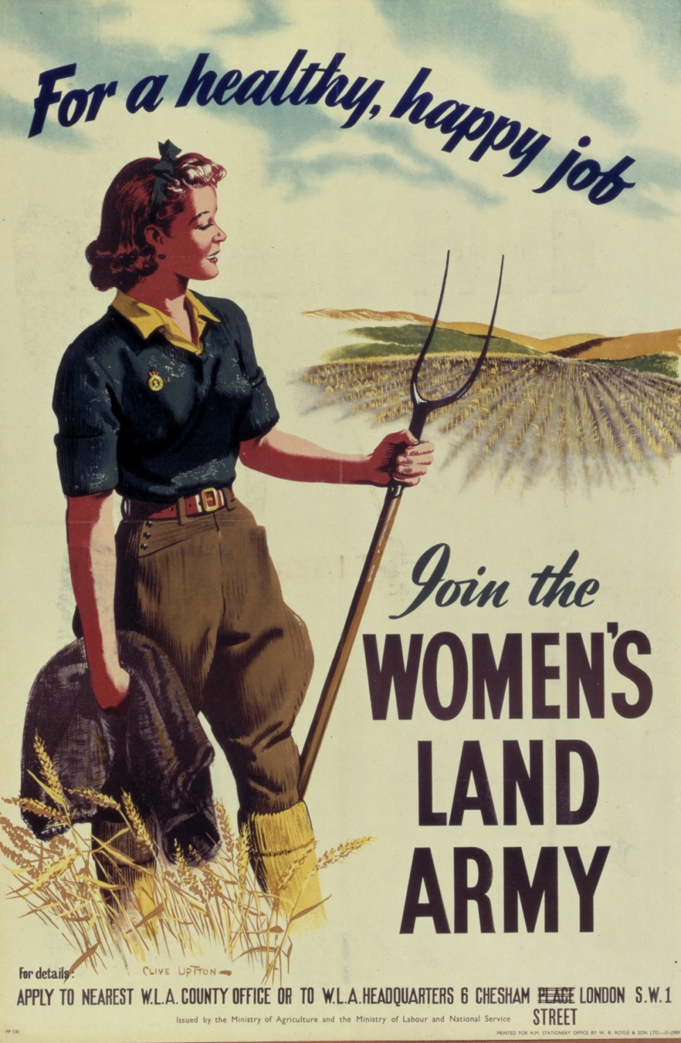 The Women's Land Army: The Battle of the Fields