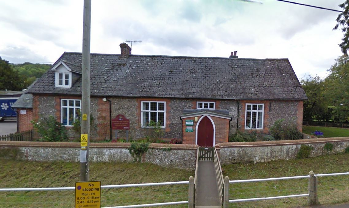 Hurstbourne Tarrant C of E Primary School. Image: Google Street View