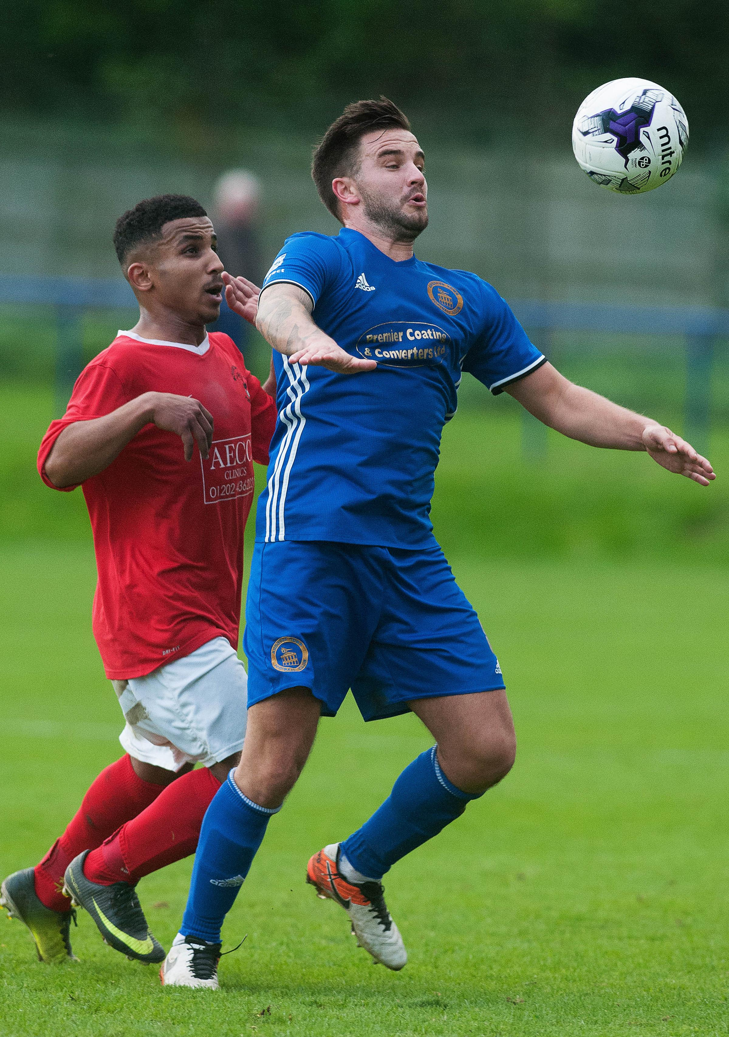Andover Town's Michael Hubbard scored in their win over Portland United Picture Andy Brooks