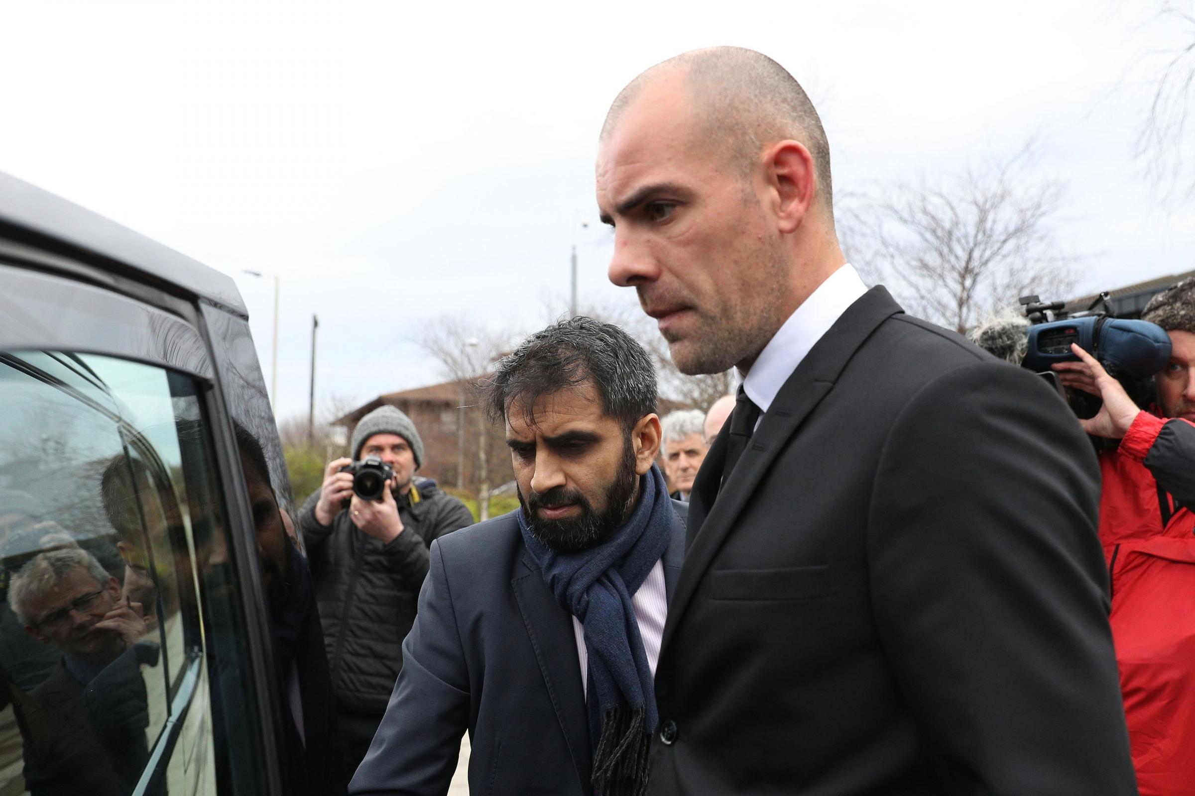 Darron Gibson at South Tyneside Magistrates' Court