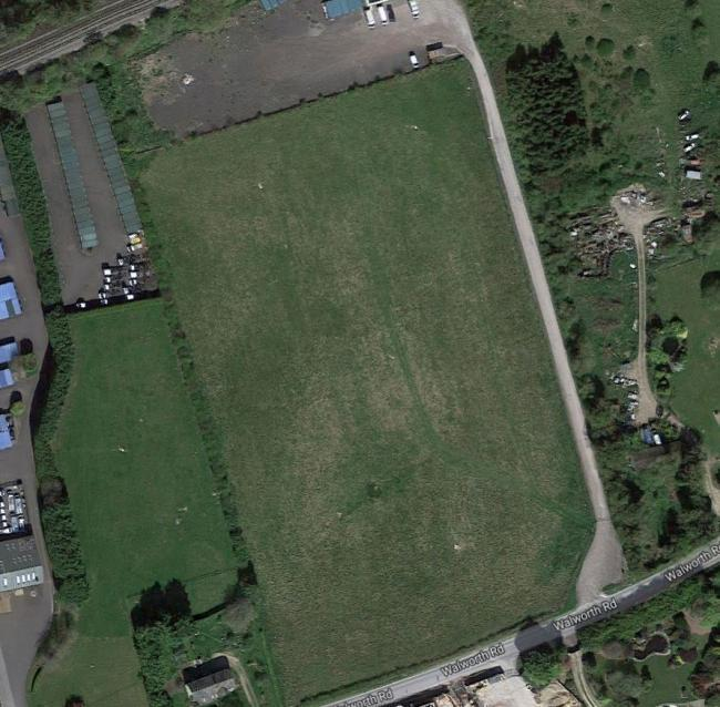 Site of the proposed development. Image: Google Maps