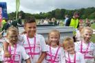 Smannell School pupils took part in the Race for Life