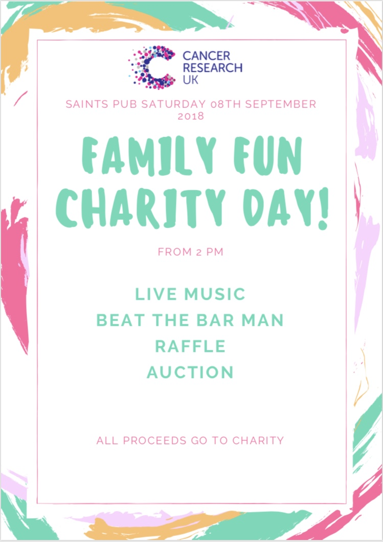 Family fun charity day!