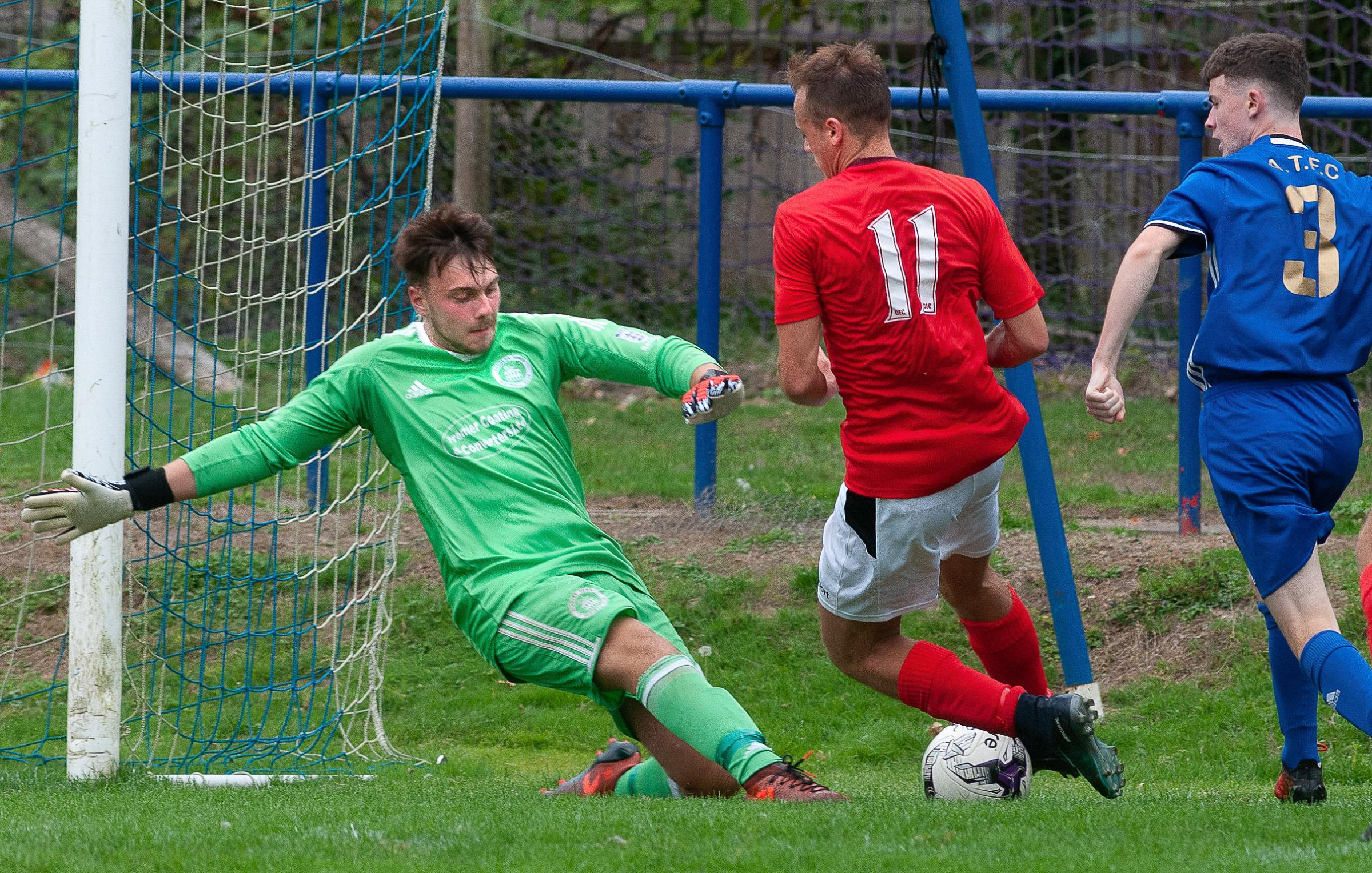 Andover Goalkeeper Kieran McHardy  Picture Andy Brooks