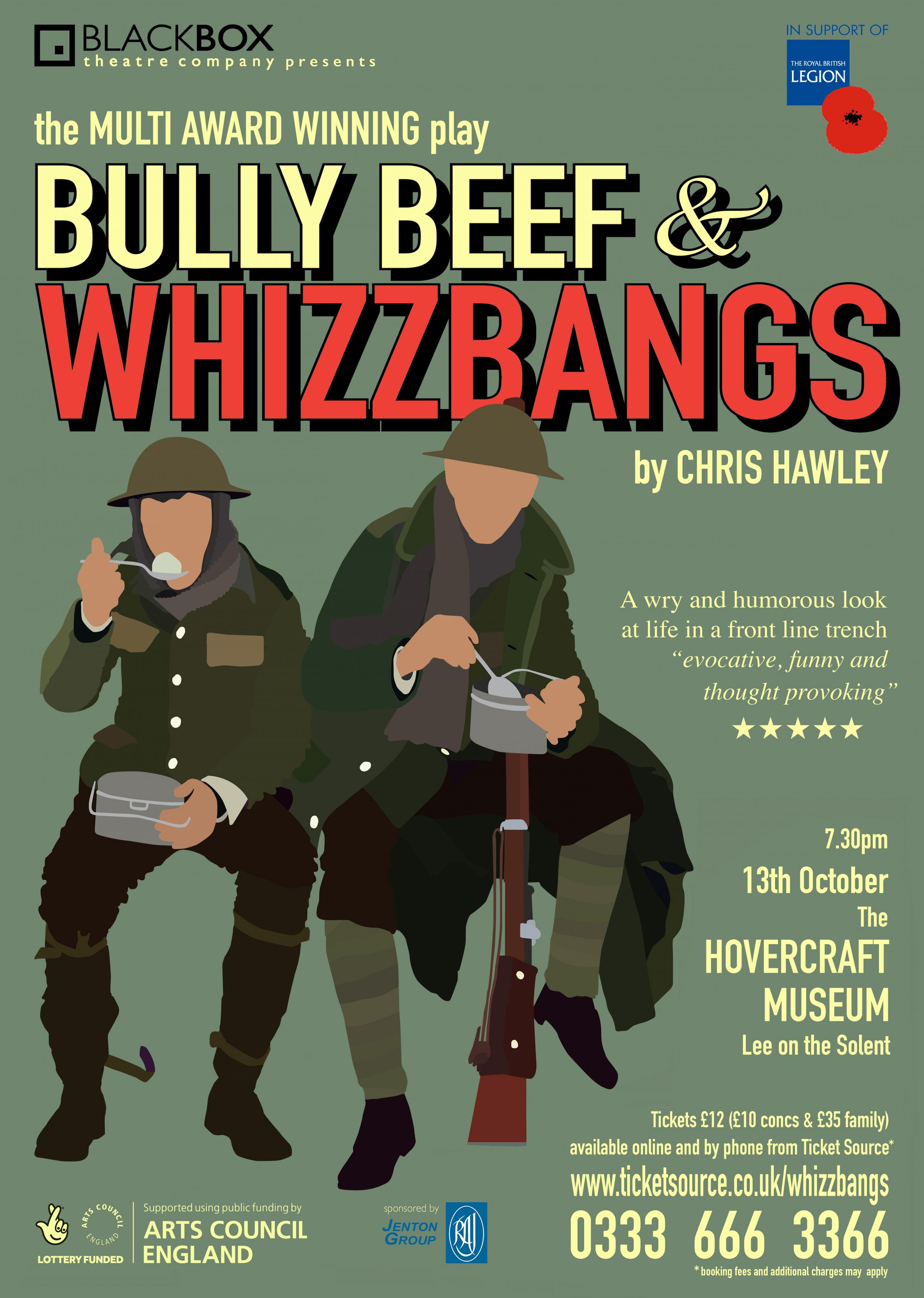 BULLY BEEF & WHIZZBANGS