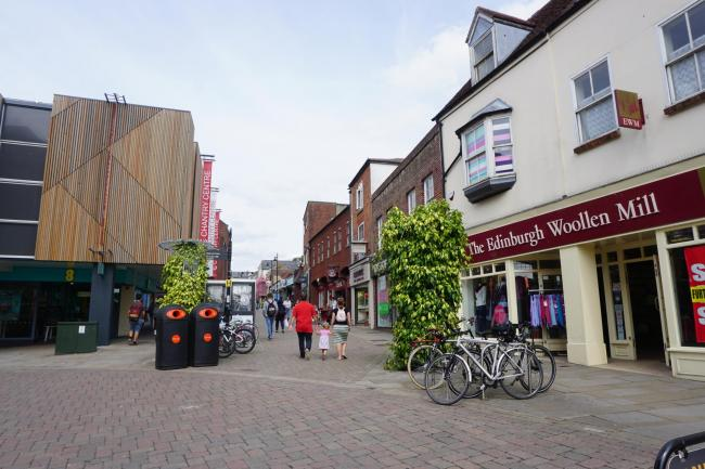 The proposed BID would encompass town centre shops