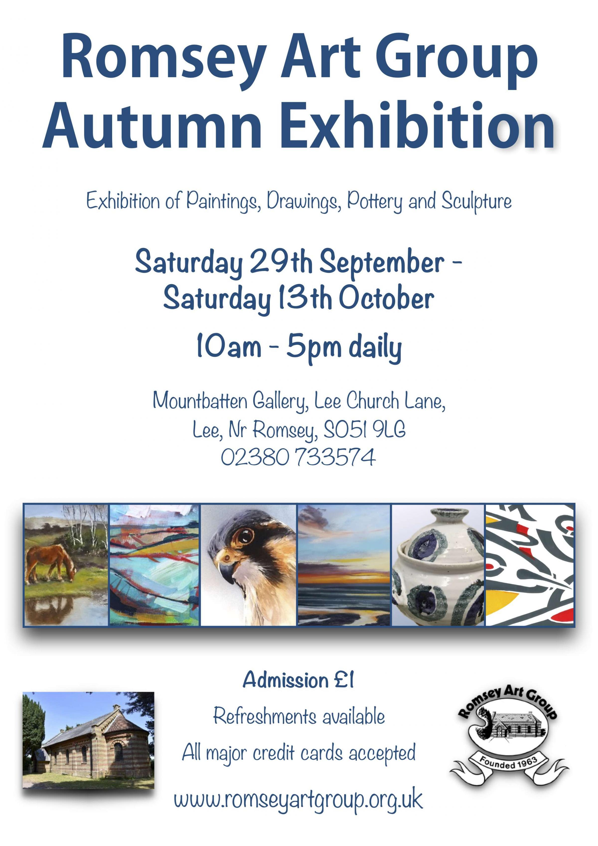Romsey Art Group Autumn Exhibition