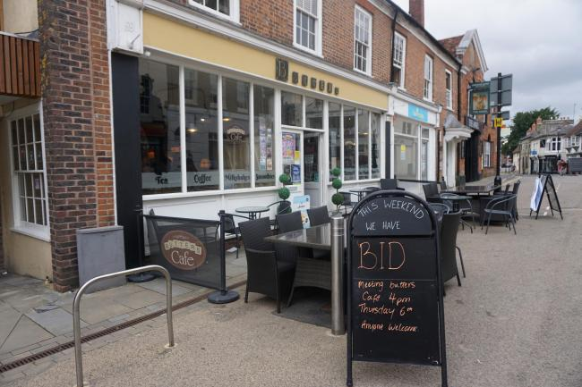Business owners met on Thursday afternoon to begin a no campaign to the BID