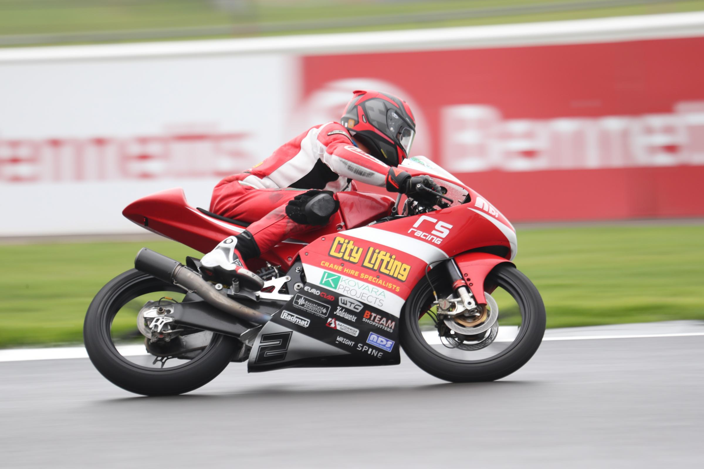Jake Archer at Silverstone Image:Kerry Rawson