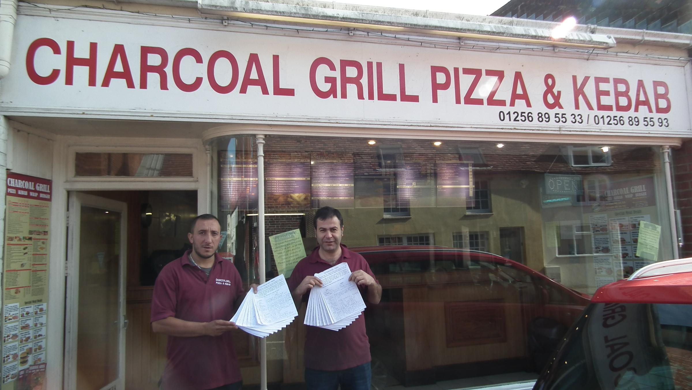 Charcoal Grill staff previously petitioned to stay open late