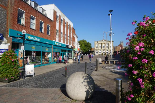 Andover town centre will have promotions in place for Small Business Saturday