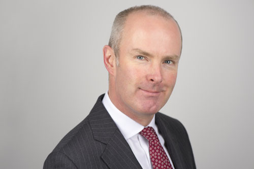 Patrick O'Connell, regional director of Gallagher Insurnace