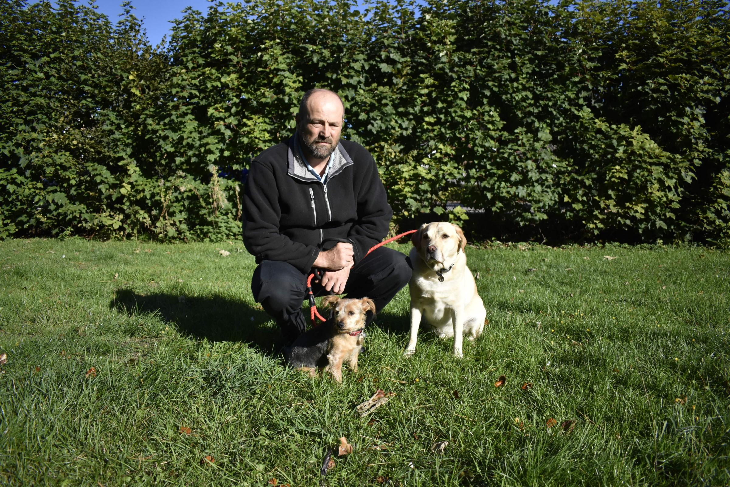 Image of: Rspca Inspector Test Valley Borough Council Animal Welfare Officer Rod Mason With His Dogs Rolly The Labrador Rochdale Online Rspca Praises Councils Animal Welfare Work With Top Awards