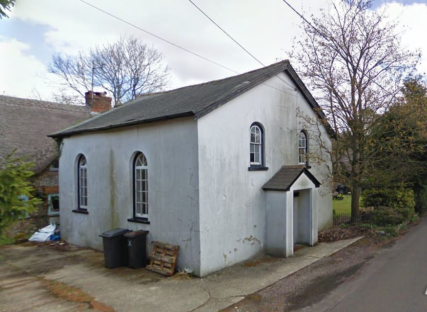 Primitive Methodist Chapel in Vernham Dean. Image: Google Street View