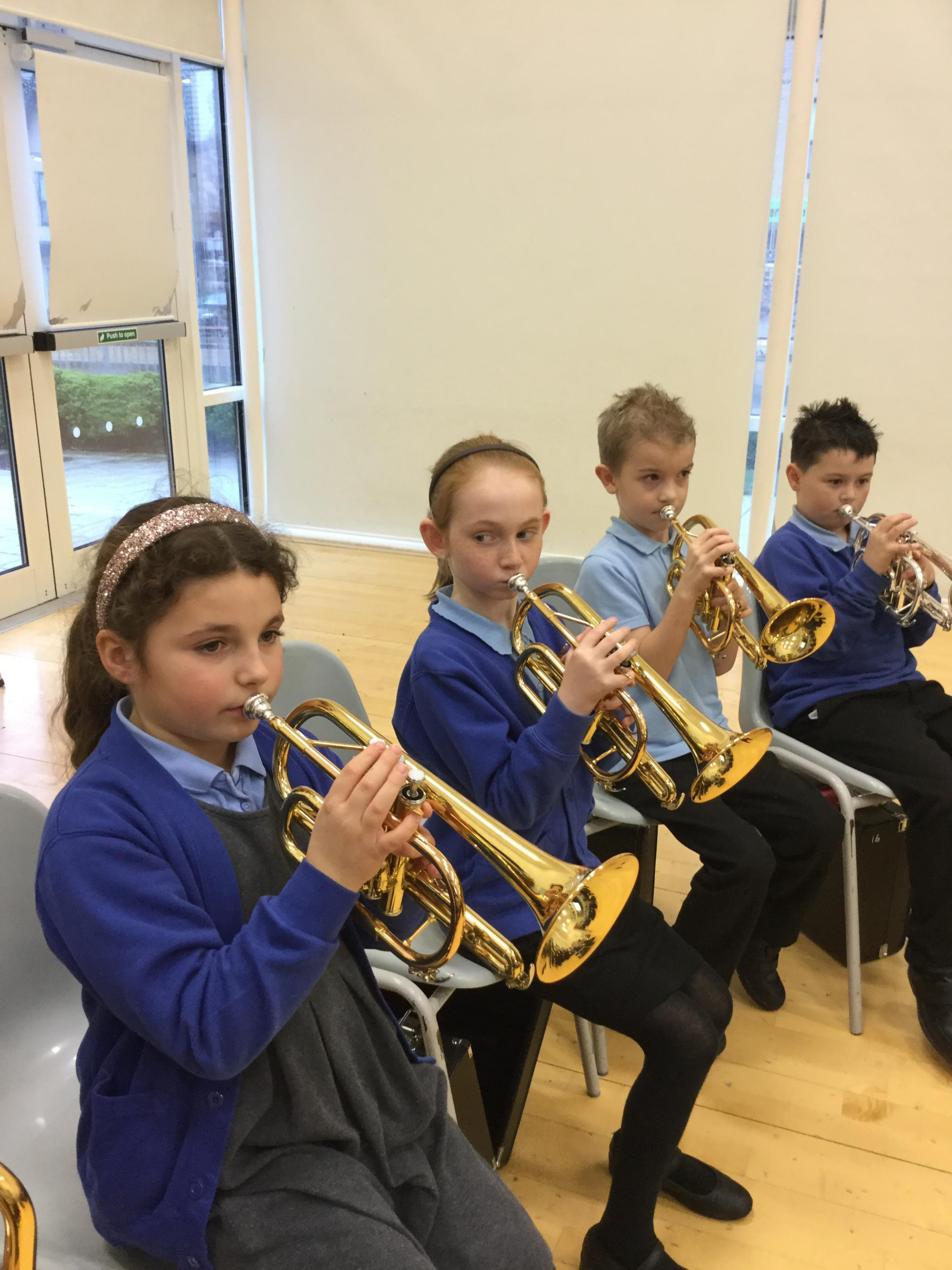 Students at Endeavour Primary School showed off their skills