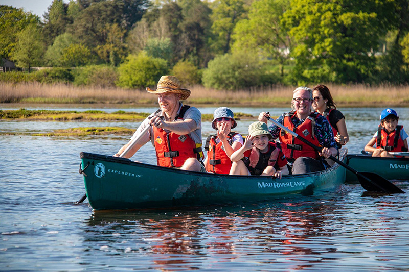 Father's Day: Papa's Paddle to the Pub with New Forest Activities