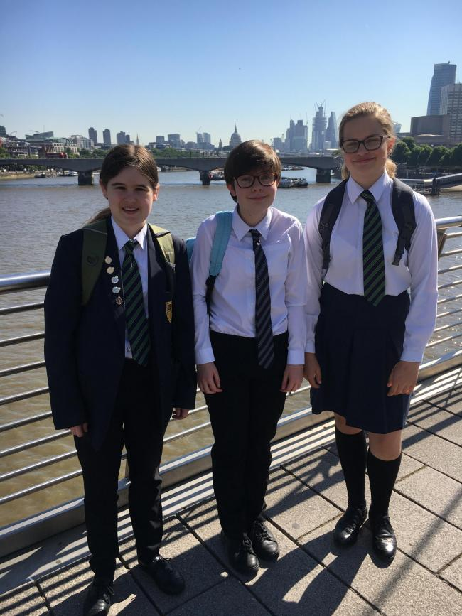 The trio are set to take on the national finals