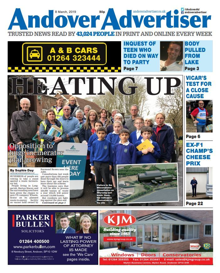 Andover Advertiser 08-03-2019