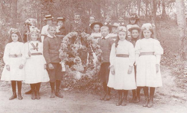 Tangley May Day, 1901