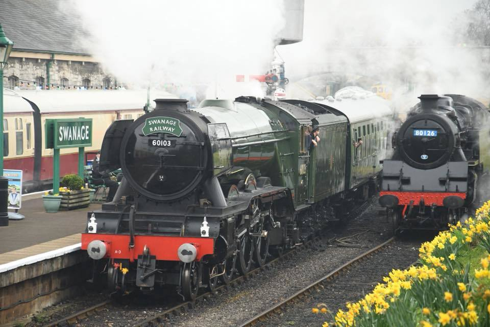The Flying Scotsman will pass through Andover. Photo: Stuart Talbot