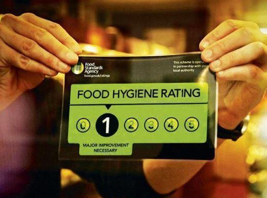 Bexley food hygiene ratings