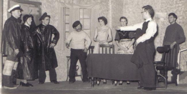 WADS' production of Jean McConnell's Haul for the Shore in 1959
