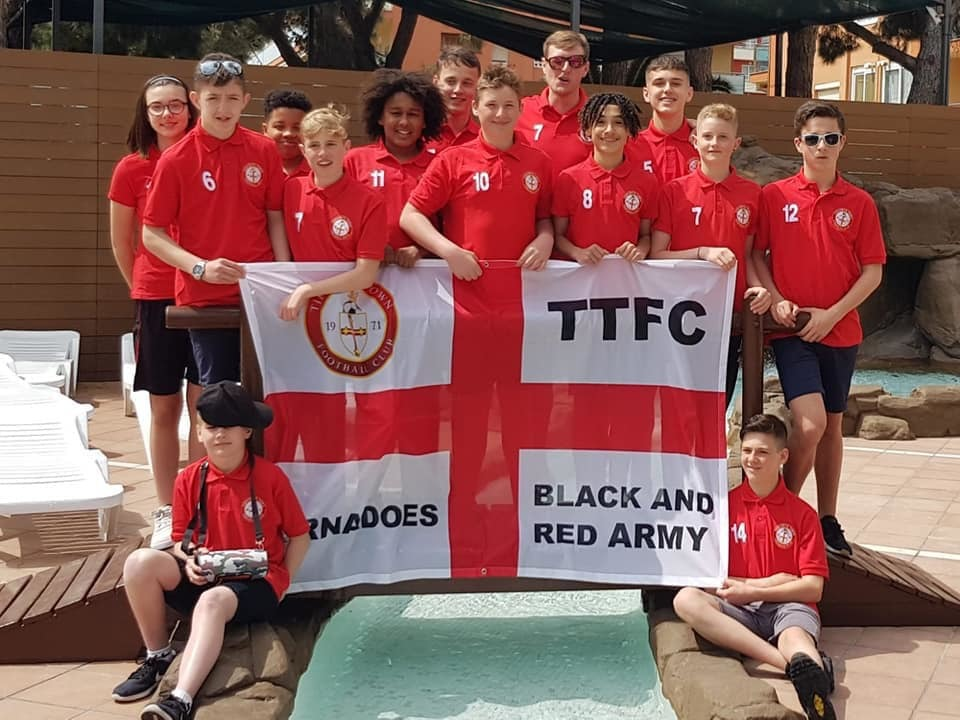 Tidworth Town FC at the Mediterranean Cup. Image: Facebook