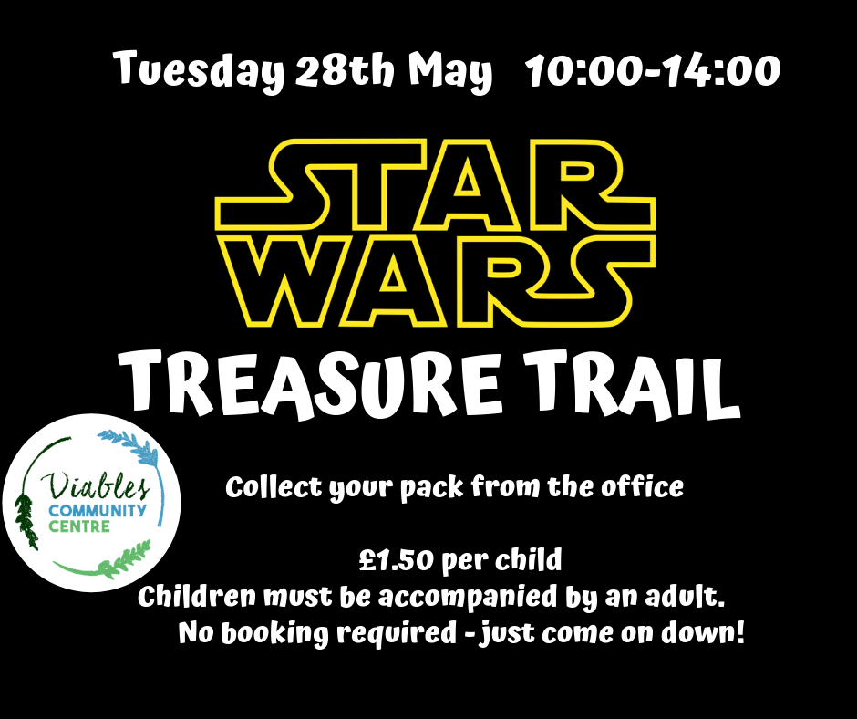 Treasure Trail - Star Wars Themed