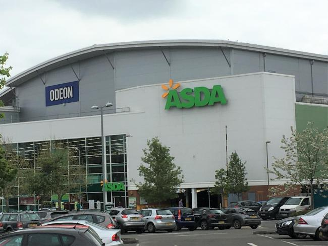 The Odeon cinema is based in Asda, in Andover