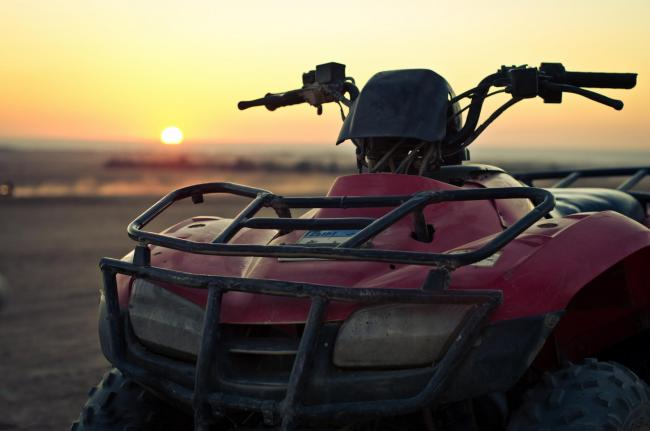 Quad bikes are one of the valuable items being targeted by organised crime groups, according to police.