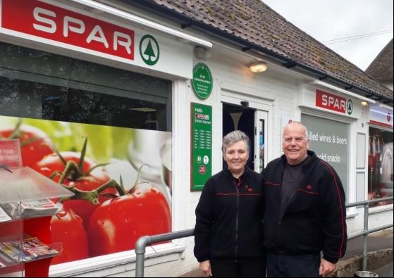 The shop has joined the Spar chain