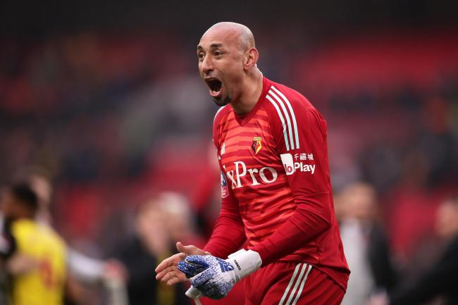 Heurelho Gomes could be playing his last game for Watford in the FA Cup final
