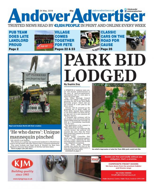 Andover Advertiser 24/05/2019