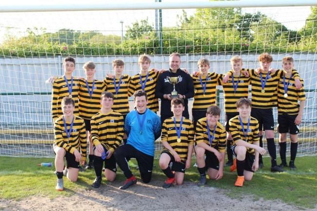 John Hanson experienced county cup sucess