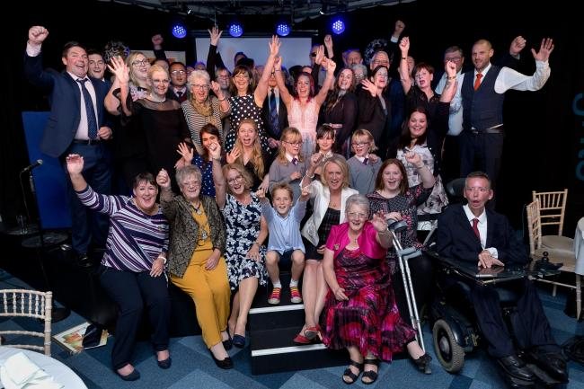 Winners and sponsors of the Pride of Andover Awards 2018. Image: Sue Morris Photography