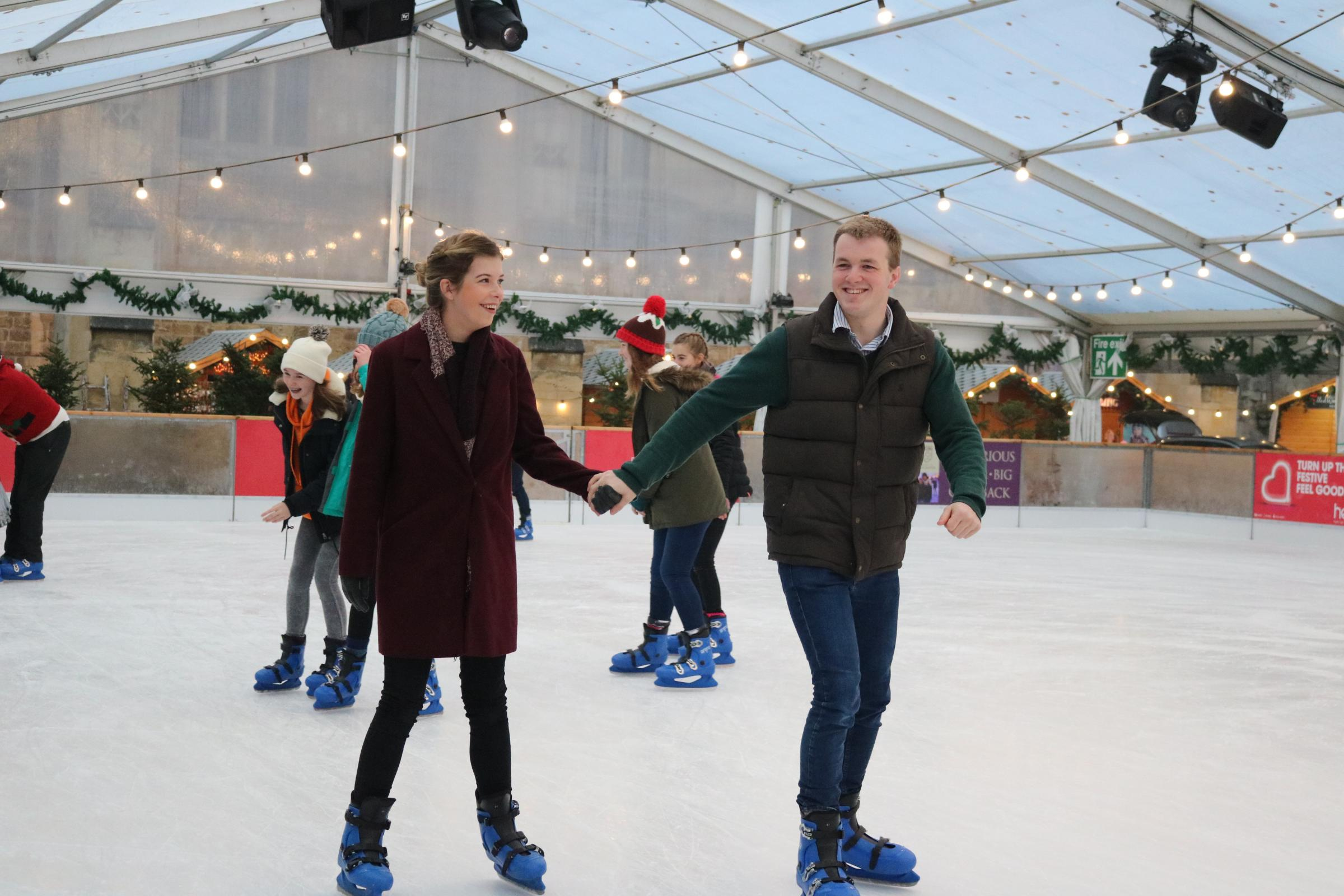 Winchester Cathedral Ice Rink 2019
